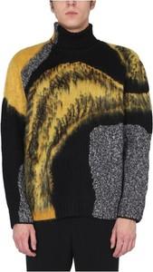 Sweter Alexander McQueen z żakardu w młodzieżowym stylu