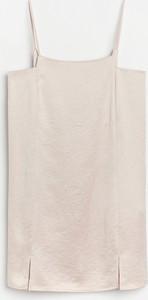Sukienka Reserved mini w stylu casual na ramiączkach