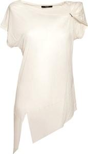 Bluzka Diesel Clothes z krótkim rękawem z okrągłym dekoltem