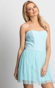 Sukienka Factory Price mini gorsetowa bez rękawów