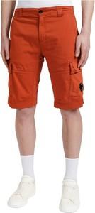Pomarańczowe spodenki C.P. Company w stylu casual