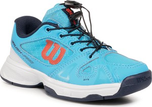 Niebieskie buty sportowe dziecięce Wilson