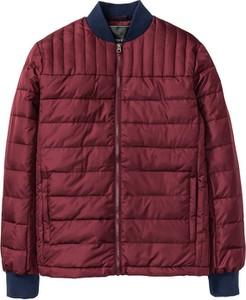 Czerwona kurtka bonprix RAINBOW w stylu casual