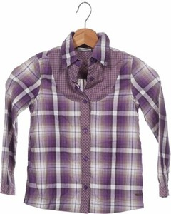 Fioletowa koszula dziecięca Tom Tailor w krateczkę dla chłopców
