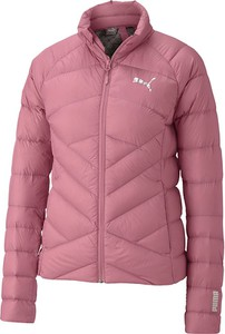 Różowa kurtka Puma