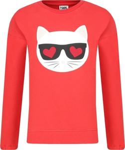 Bluza dziecięca Karl Lagerfeld