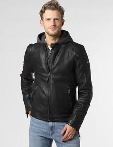 Czarna kurtka Gipsy ze skóry w stylu casual