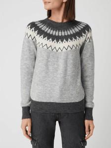 Sweter Vero Moda z wełny w stylu skandynawskim w stylu casual