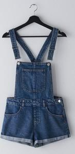 Szorty Cropp w młodzieżowym stylu z jeansu
