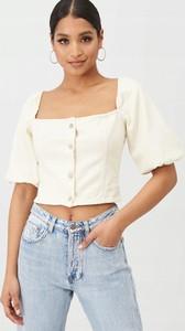 Bluzka Missguided z jeansu