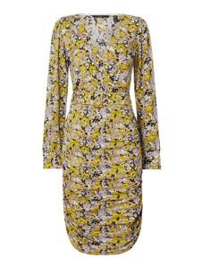 Sukienka Vero Moda z dekoltem w kształcie litery v z długim rękawem mini