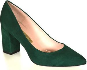 Zielone czółenka Bravo
