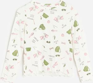 Koszulka dziecięca Reserved dla dziewczynek z długim rękawem