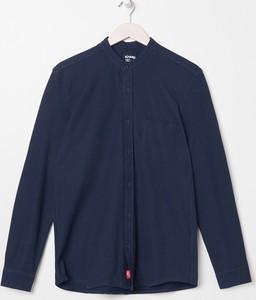 Granatowa koszula Sinsay