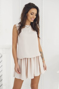 Sukienka Tcl mini z okrągłym dekoltem
