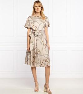 Sukienka Guess by Marciano z okrągłym dekoltem z krótkim rękawem
