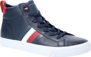 Tommy Hilfiger Skórzane sneakersy FLAG