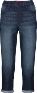 Granatowe jeansy bonprix John Baner JEANSWEAR