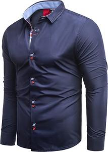 Koszula Risardi z klasycznym kołnierzykiem z długim rękawem