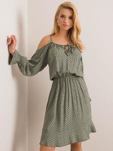 Sukienka Sheandher.pl w stylu casual z długim rękawem mini