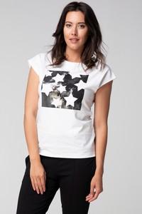 T-shirt redifashion_com w młodzieżowym stylu z bawełny