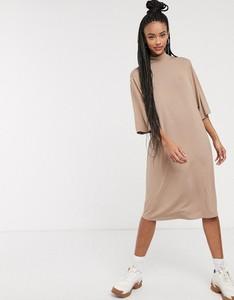 Sukienka Monki midi z długim rękawem