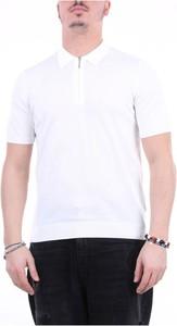 T-shirt Barba w stylu casual