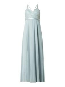 Sukienka Jake*s z dekoltem w kształcie litery v rozkloszowana maxi