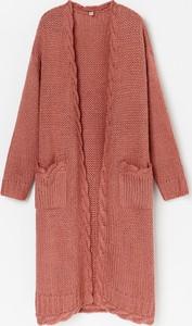 Różowy sweter Reserved w stylu casual
