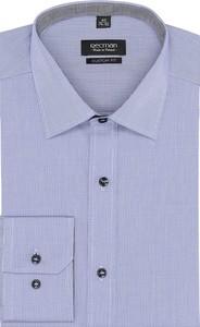 Niebieska koszula recman bez wzorów