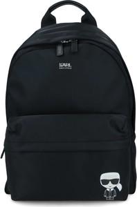 Czarny plecak Karl Lagerfeld
