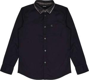 Czarna koszula dziecięca Diesel dla chłopców