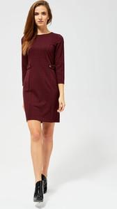 Czerwona sukienka Moodo mini