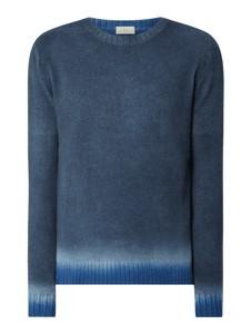 Granatowy sweter Altea w stylu casual z wełny