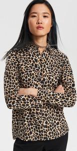 Brązowa koszula Reserved z długim rękawem