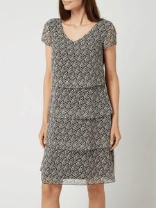 Sukienka Gerry Weber mini z krótkim rękawem w stylu casual