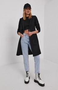 Czarny płaszcz Only