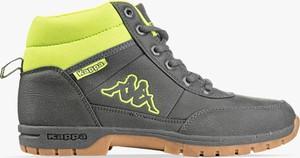 Buty trekkingowe Kappa z płaską podeszwą sznurowane