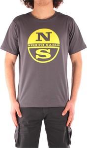 T-shirt North Sails w młodzieżowym stylu