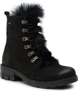 Czarne buty dziecięce zimowe Lasocki Young