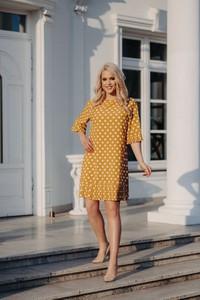 Żółta sukienka Roxana - sukienki
