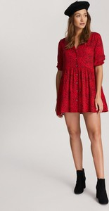 Sukienka Diverse z dekoltem w kształcie litery v mini