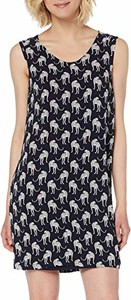 Sukienka amazon.de w stylu casual mini z okrągłym dekoltem