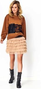 Spódnica Makadamia mini z tiulu
