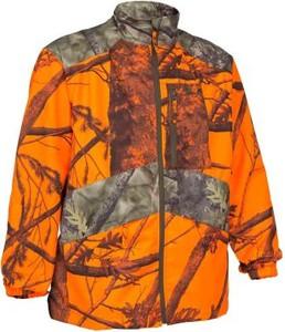Pomarańczowa kurtka Solognac