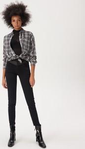 Czarne jeansy Sinsay