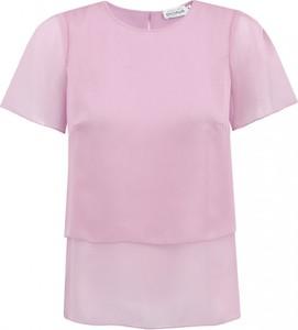 Fioletowa bluzka Premiera Dona