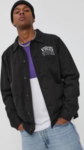 Czarna kurtka Vans w stylu casual