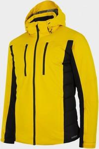 Żółta kurtka Outhorn w sportowym stylu krótka