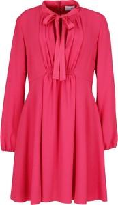 Sukienka Red Valentino mini w stylu casual z długim rękawem